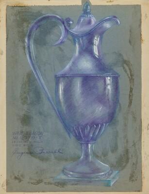 Silver Wine Flagon