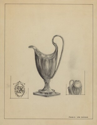 Silver Cream Pitcher