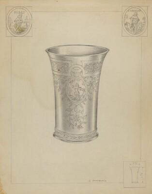 Silver Communion Beakers
