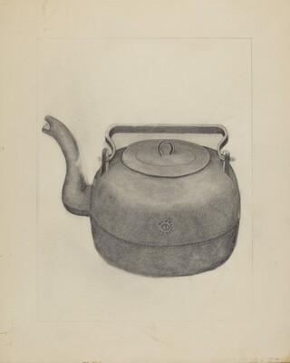 Iron Tea Kettle