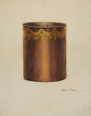 Toleware Vase