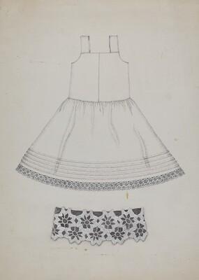 Doll's Cotton Petticoat