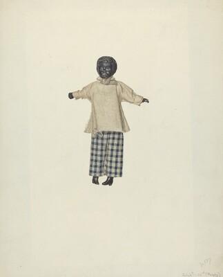 China Headed Negro Doll