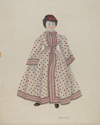 Doll with China Head
