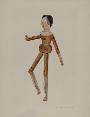 Jointed Dutch Doll