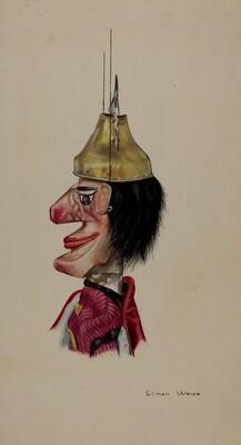 King Saul Marionette
