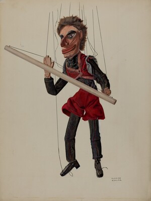 Tight-rope Walker Marionette