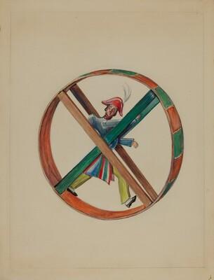 Wheel with Figure