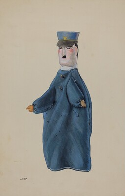 Hand Puppet - Policeman