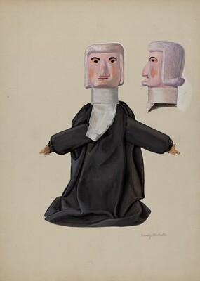 Judge Hand Puppet