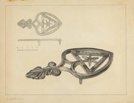 Flat Iron Holder