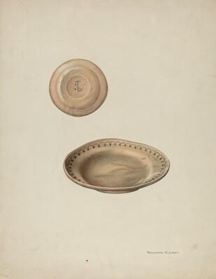 Plate Treen