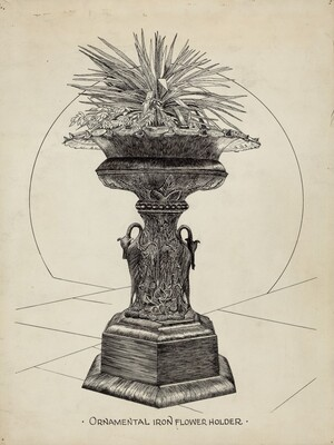 Ornamental Urn for Flowers