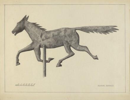 Prairie Horse Weather Vane