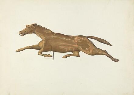 Running Horse Weather Vane