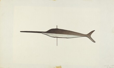 Swordfish Weather Vane