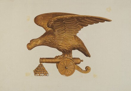 Eagle with Cannon