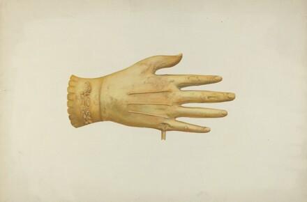 Metal Weather Vane: Glove