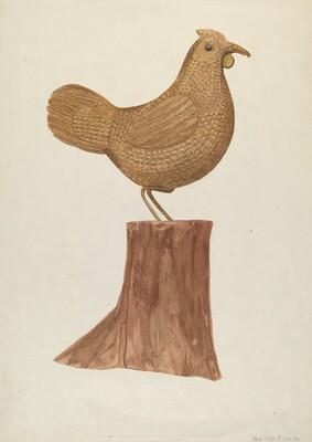 Little Wooden Hen