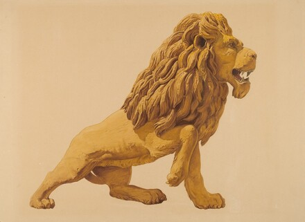 Circus Wagon Lion