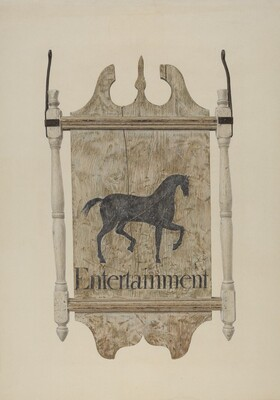 Tavern Sign (Black Horse Tavern)