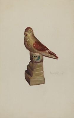 Chalkware Bird