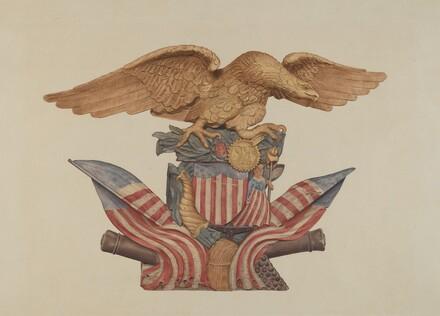Pine Ornament (Eagle)