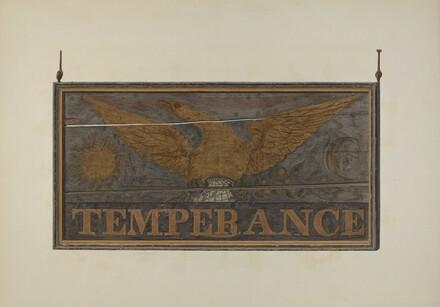 Tavern Sign: Temperance