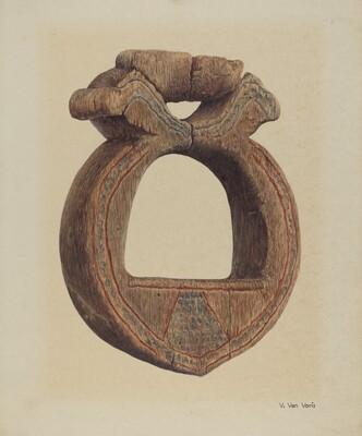 Wooden Stirrup