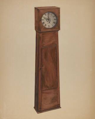 Shaker Grandmother Clock