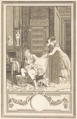 Le bain des pieds (The Foot-Bath)