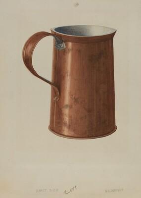 Copper Measuring Cup
