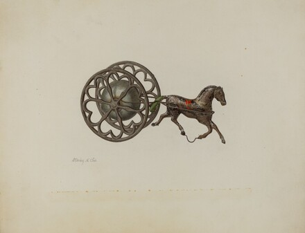Toy Bell Cart