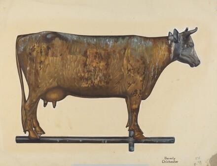 Cow Weather Vane