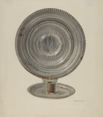 Tin Candle Sconce