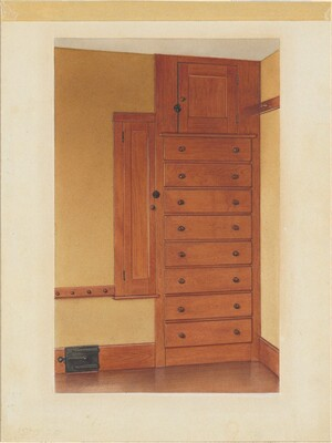 Built-in Cupboard and Drawers