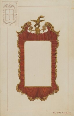 Mirror - Chippendale Style