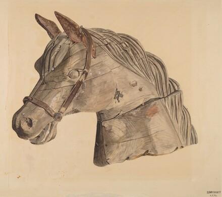Carousel Horse's Head