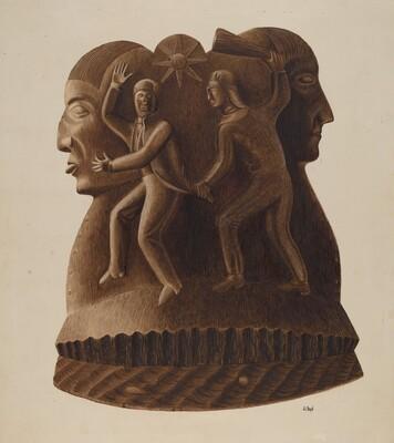 Symbolic Figure Carvings