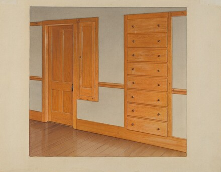 Built-in Drawers and Cupboards