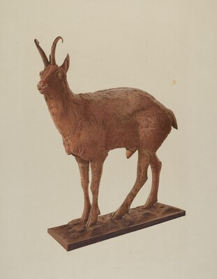Cast Iron Goat