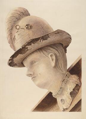 Figurehead from Schooner Haroldine