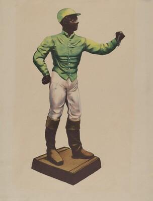 Jockey Hitching Post