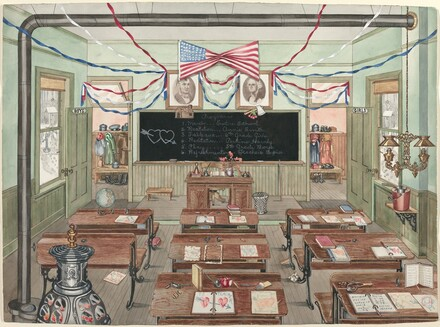 Rural School Room, 1900