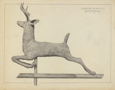 Deer Weather Vane