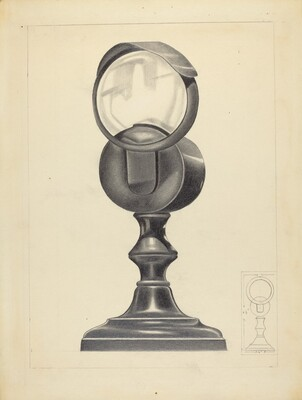 Bull's Eye Lamp
