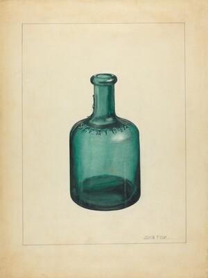 Blown Glass - Bottle