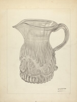 Blown Glass - Pitcher