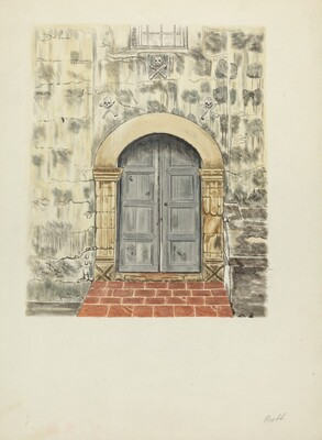 Doorway and Door