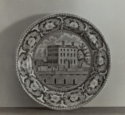 Plate - Athaneum, Boston